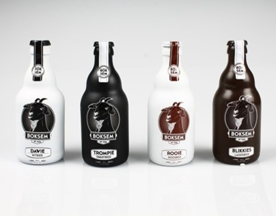 Boksem Bier - Craft Beer Packaging