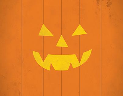Hallowe'en Minimalist Poster Series
