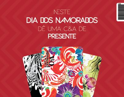 Cartão Presente | Dia dos Namorados C&A