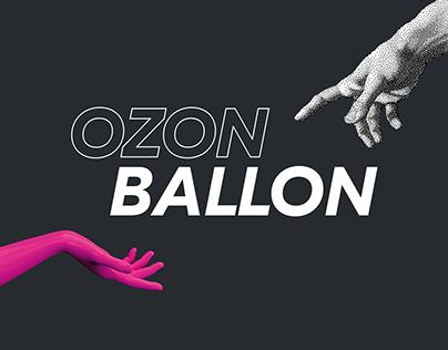 Ozon Ballon - art collaboration