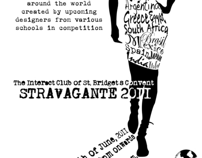 Poster design For a Fashion Show held in Sri Lanka