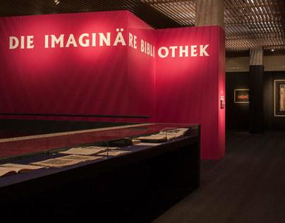 Die imaginäre Bibliothek – Exhibition Design