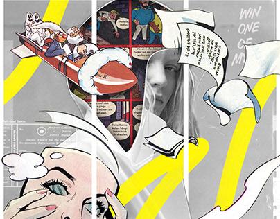 Collage Artwork 319-321