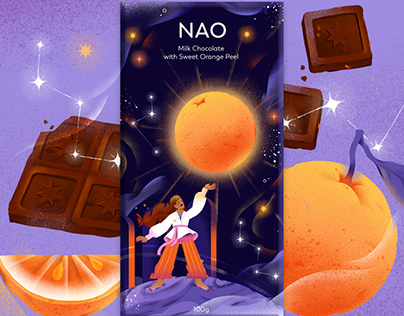 Nao Chocolate Packaging