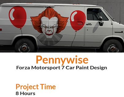 Pennywise Forza Motorsport 7 Car Paint Design