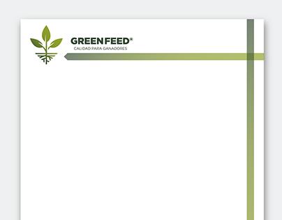 HOJA MEMBRETADA/ Green Feed