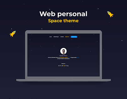 Web personal - Space