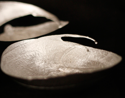 Paarlemoer (Mother of Pearl) - Handcast pewter bowls