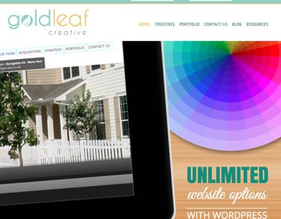 Goldleaf Creative - Design for Web and Print