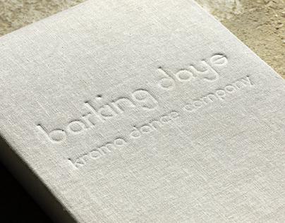 barking days (presentation boxes + graphic design)