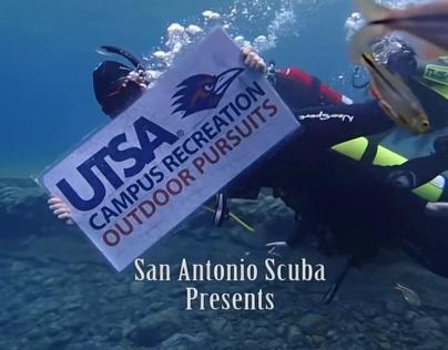 UTSA Outdoor Pursuits Final Open Water Dive 10-13-2013