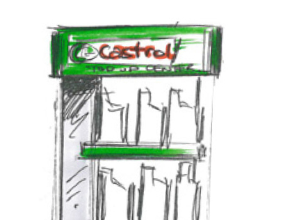 Castrol BP Forecourt Stands