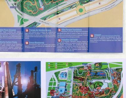 Brochure Design for Parque Fundidora