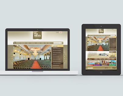 TheNess Hotel - Web Design