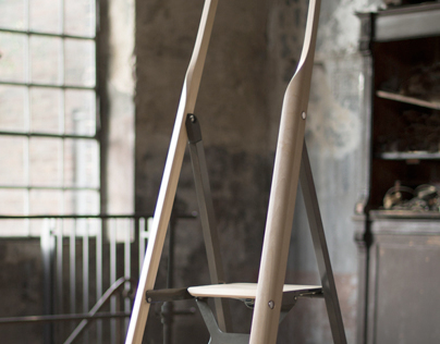 TENZING - The ladder as part of the living environment