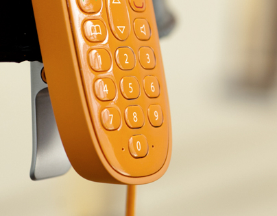 CLIMB - Landline phone with a surprising charging dock