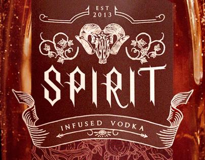 """SPIRIT"" Halloween Vodka Branding"