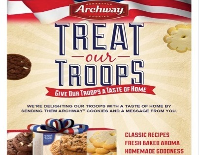 Archway Cookies - Treat Our Troops
