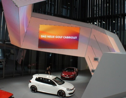 Plexgroup | Volkswagen brand pavilion