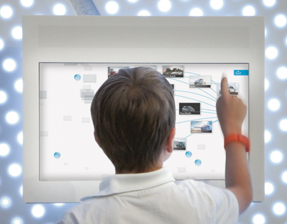 Plexgroup | Volkswagen brand pavilion | Interface