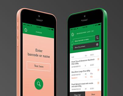 Greeneat App (concept)