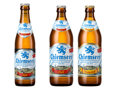 Bierflaschen: CGI-Packshots Renderings