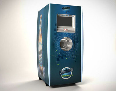 3D Modeling & Rendering | Vending Machine