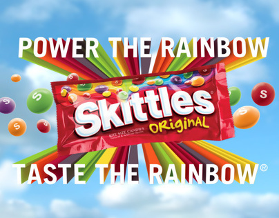 """Skittles """"Experience the Rainbow"""" Campaign"""