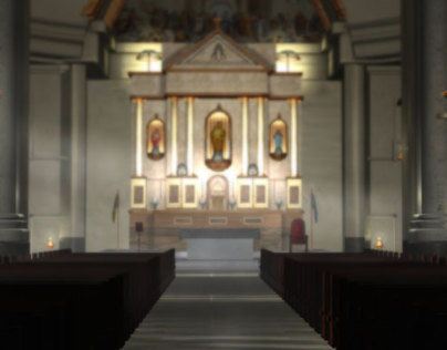 3D Modeling & Rendering (low poly) | Basilica