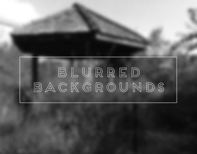 Blurred B&W Backgrounds