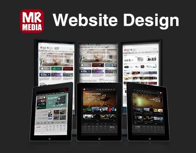 MR-Media Website Design