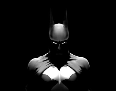 Batman Fan Art Process