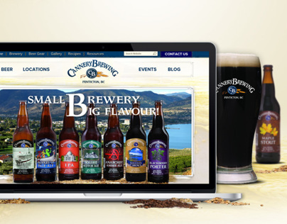 Cannery Brewing Re-Design