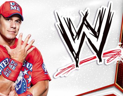 WWE®--packaging/branding for Mattel Toys