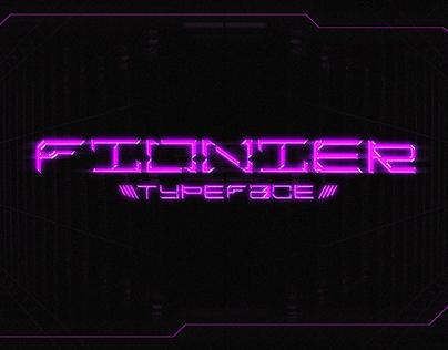Fionier - Free Display Font