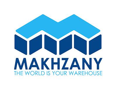 Makhzany logo design