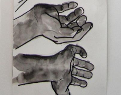 dessin - mains et narration