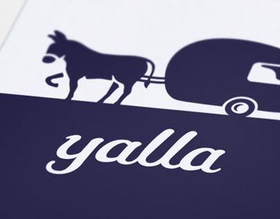 Yalla, the Burro-Caravan