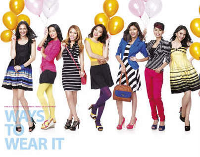 VOIR 2012 COLOUR DELIGHT PROJECT COLLABORATION