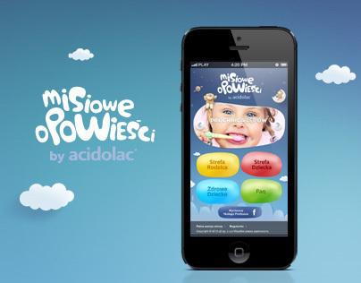 Misiowe Opowieści by Acidolac - mobile site