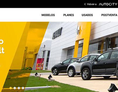 Diseño web mobile + desktop para Concesionarias