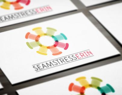 Seamstress Erin Logo Design