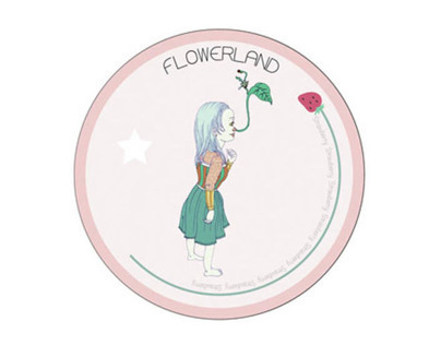 Flowerland Brand making_practice