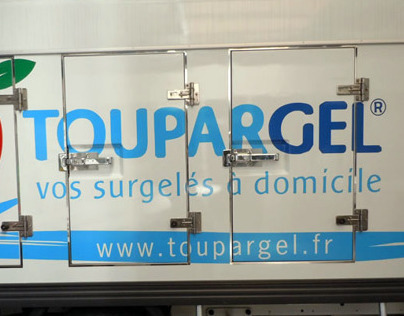Renewed packaging for Toupargel