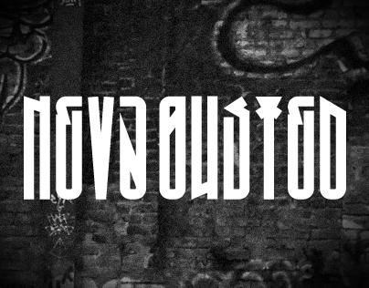 Neva Busted Typeface