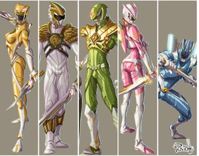 Power Ranger redesign