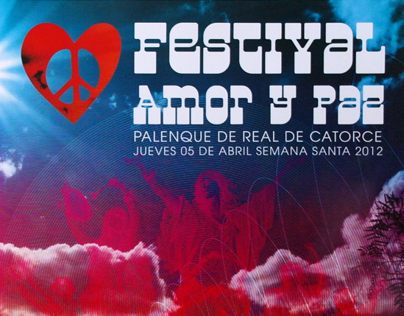 Art Director & Graphic Design for Festival Amor y Paz