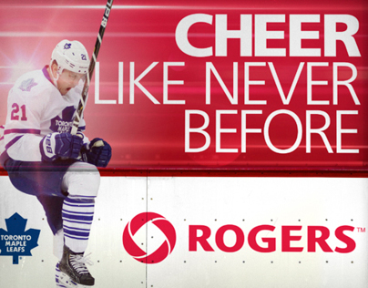 ROGERS AIR CANADA CENTRE 300 LEVEL REBRAND