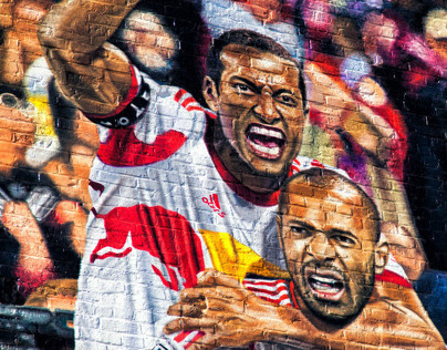 New York Red Bulls Wallscapes
