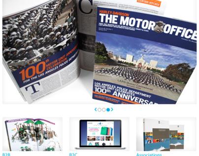 Quad/Graphics Media Solutions Website